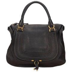 Chloe Black Leather Marcie