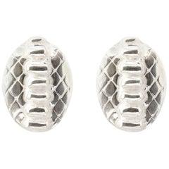 Giulia Barela Skin Mini 925 Silver  Earrings