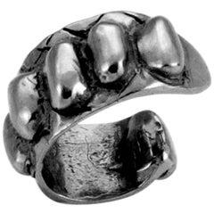 Giulia Barela Skin Ear Cuff  925 Silver Black Rhodium  Earring