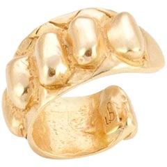 Giulia Barela Skin Gold Plated Bronze Ear Cuff