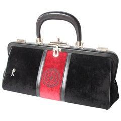 Roberta di Camerino Velvet Handbag c. 1978