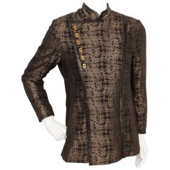 Vintage Shimmering Asymmetrical Jacket from the Royal Shakespeare Theater
