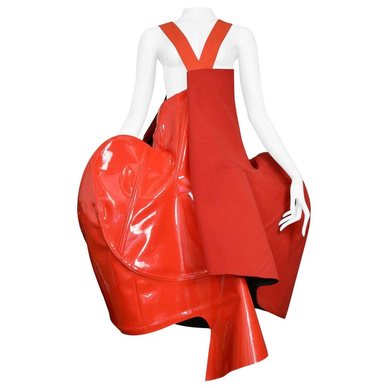 "Important & Rare Comme Des Garcons ""Blood & Roses"" Runway Dress 2015  For Sale"