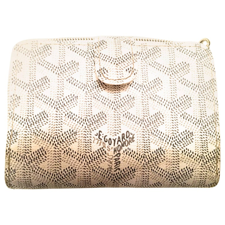 Rare Goyard Wallet White Multipurpose For Sale At Stdibs - How to create a paypal invoice goyard online store