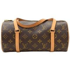 Louis Vuitton Papillon 27 Monogram Canvas Hand Bag