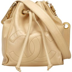 Chanel Brown Lambskin Timeless Shoulder Bag