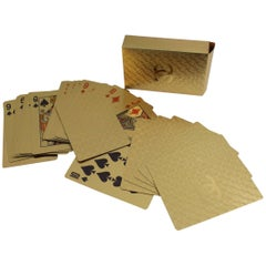 Chanel Collector's Poker Golden Cards Maze