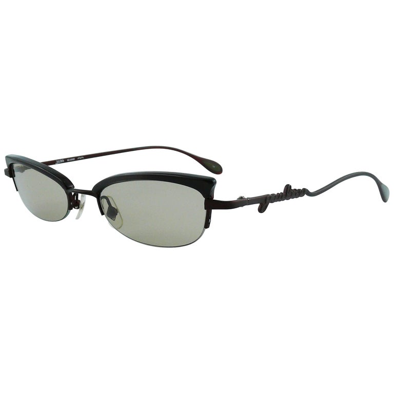 Jean Paul Gaultier Cat Eye Sunglasses Model 56-0069