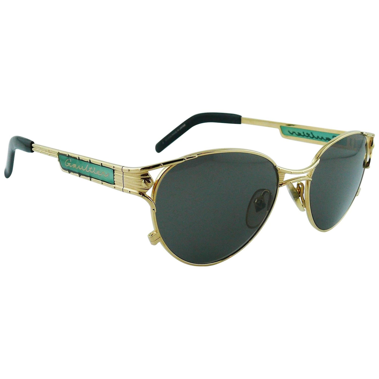 debee1bcb41 Vintage Jean Paul Gaultier Sunglasses - 74 For Sale at 1stdibs