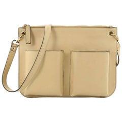Marni Bandoleer Crossbody Bag Leather Medium