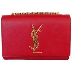Yves Saint Laurent Lipstick Red Crossbody Bag