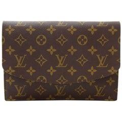 Louis Vuitton Vintage Pochette Rabat Monogram Canvas Clutch Bag