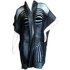 Jean Paul Gaultier Op Art Cardigan