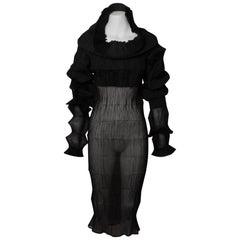 Rare ISSEY MIYAKE Flying Saucer Dress