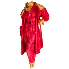 Issey Miyake 1970's Jumpsuit with Matching Trench Coat
