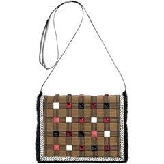 Multicolor Fendi Patent Leather Crossbody Bag