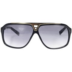 Black Louis Vuitton Faux Semblant Sunglasses
