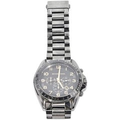 Gunmetal Michael Kors Oversized Bracelet Watch