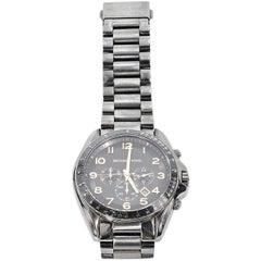 Gunmetal Michael Kors Oversized Bracelet Watch