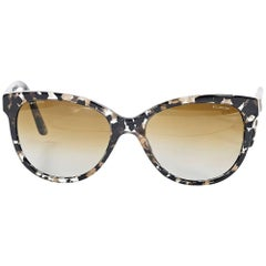 Brown Versace Tortoise Shell Sunglasses