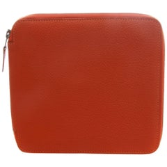 Hermes Orange CD Case