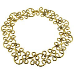 Chanel Vintage 1980s Gold Toned Chain Belt