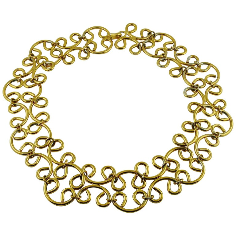 Chanel Vintage 1980s Gold Toned Chain Belt