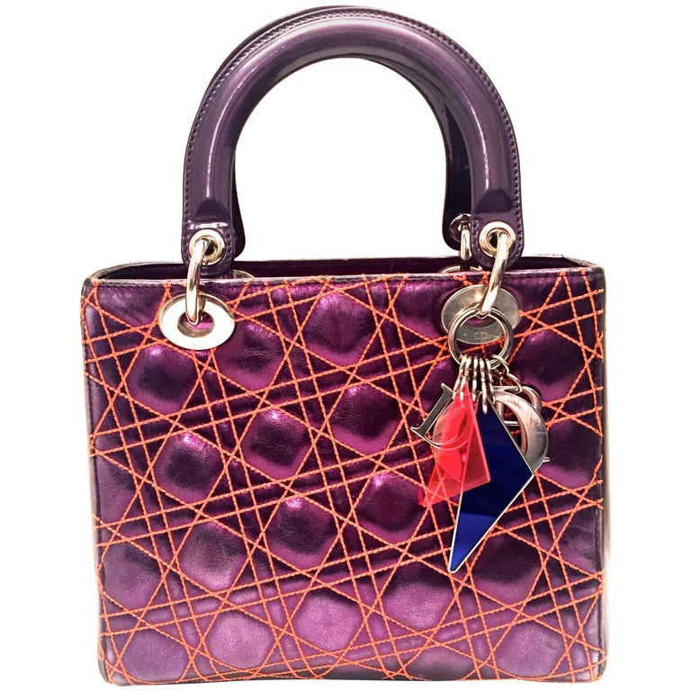 Rare Lady Dior Bag Special Edition - Anselm Relye