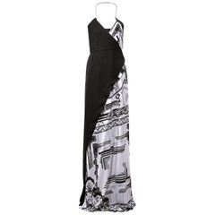 Versace VERSUS + Anthony Vaccarello iconic print maxi dress