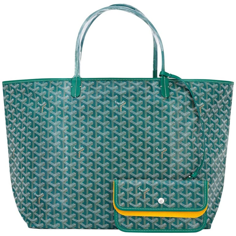 Goyard Tote St Louis Hunter Green Chevron Bag GM For Sale At Stdibs - How to create a paypal invoice goyard online store