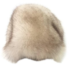 20th Century Canadian Fox Fur Hat Hand Made By, Eaton