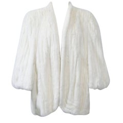 Vintage Ermine Jacket/Cape