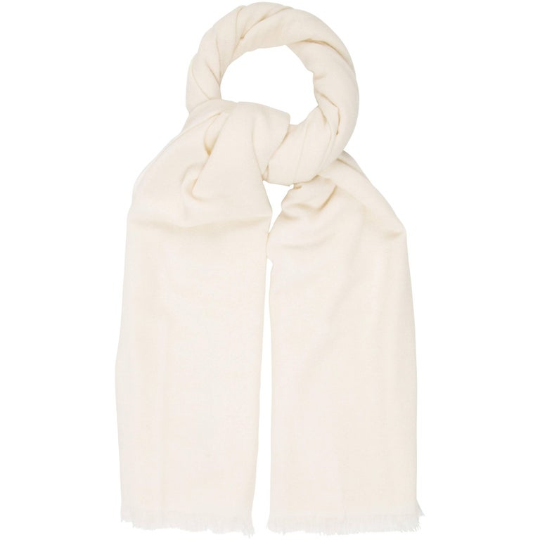 Tom Ford New Men's Cream Off White Cashmere Suit Coat Outwear Scarf