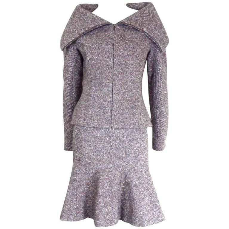 Alexander McQueen 2004 Collection Skirt Suit