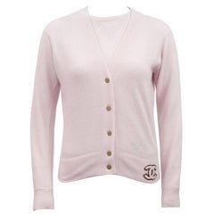Autumn 2001 Light Pink Chanel Cashmere Twinset