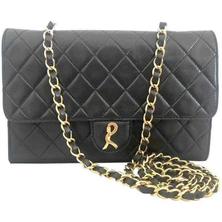 Vintage Roberta di Camerino, AMBASSADOR collection, classic 2.55 style chain bag