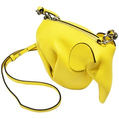 J.W. Anderson Bright Yellow Elephant Mini-Bag