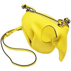 J.W. Anderson Bright Yellow Elephant Mini-Bag