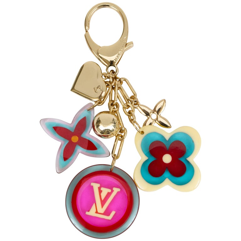 Louis Vuitton Pop Color Keychain Bag Charm For Sale