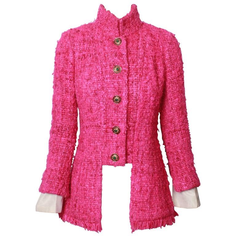 Chanel Maharaja Tweed Jacket, 2012  For Sale