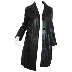 Katayone Adeli Leather Coat