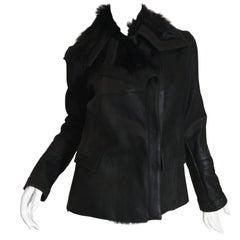 Christian Dior Fur Lined Coat