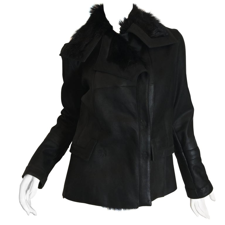 Christian Dior Fur Lined Coat