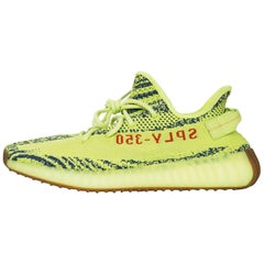 Adidas x Kanye West Yeezy Boost 350 V2 Semi Frozen Yellow 2.0 Sneakers Sz 10 NIB