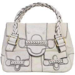 Valentino Beige Leather Histoire Bag