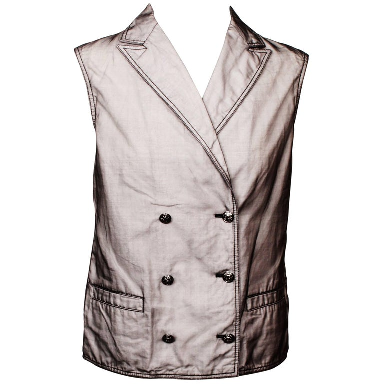Chanel Double Breasted Vest