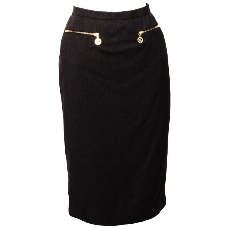Chanel Boutique Pencil Skirt
