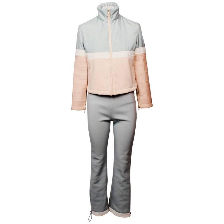 Chanel Ski Suit, circa 2002