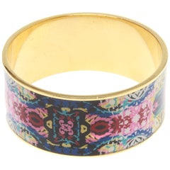 Christian Lacroix Floral Bangle