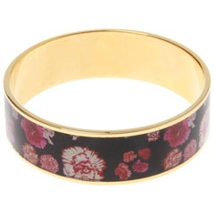 Christian Lacroix Floral Printed Bangle